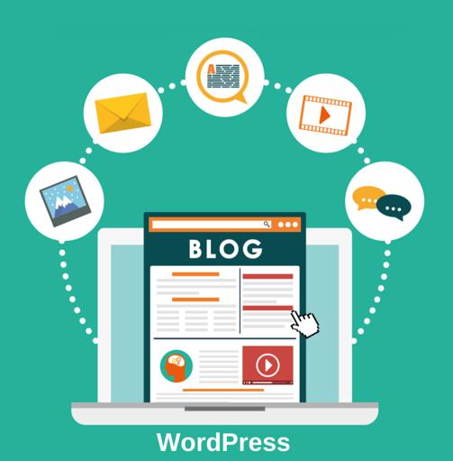 Blog Site design - Web Designing India